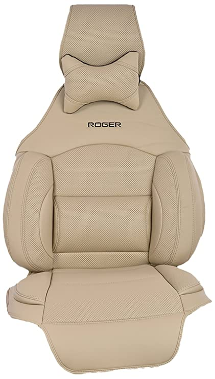 Roger Universal DIY Car Seat Cover Beige