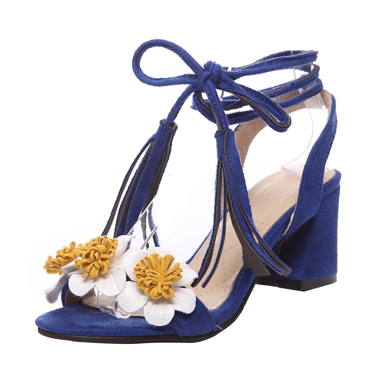 JYshoes Bleu Bride B00MY4MVGQ 19994 Cheville Femme Bleu 308173d - epictionpvp.space