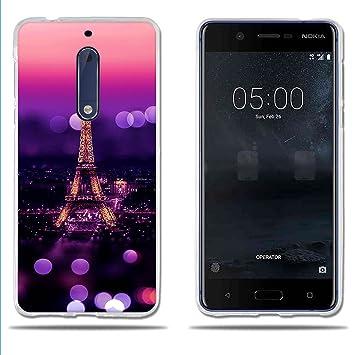 fubaoda Funda Nokia 5 Carcasa de Silicona TPU,Escena ...