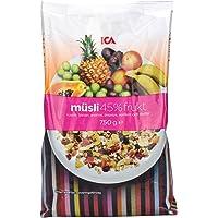 ICA 爱西爱 45%水果什锦营养早餐麦片 750g(瑞典进口)