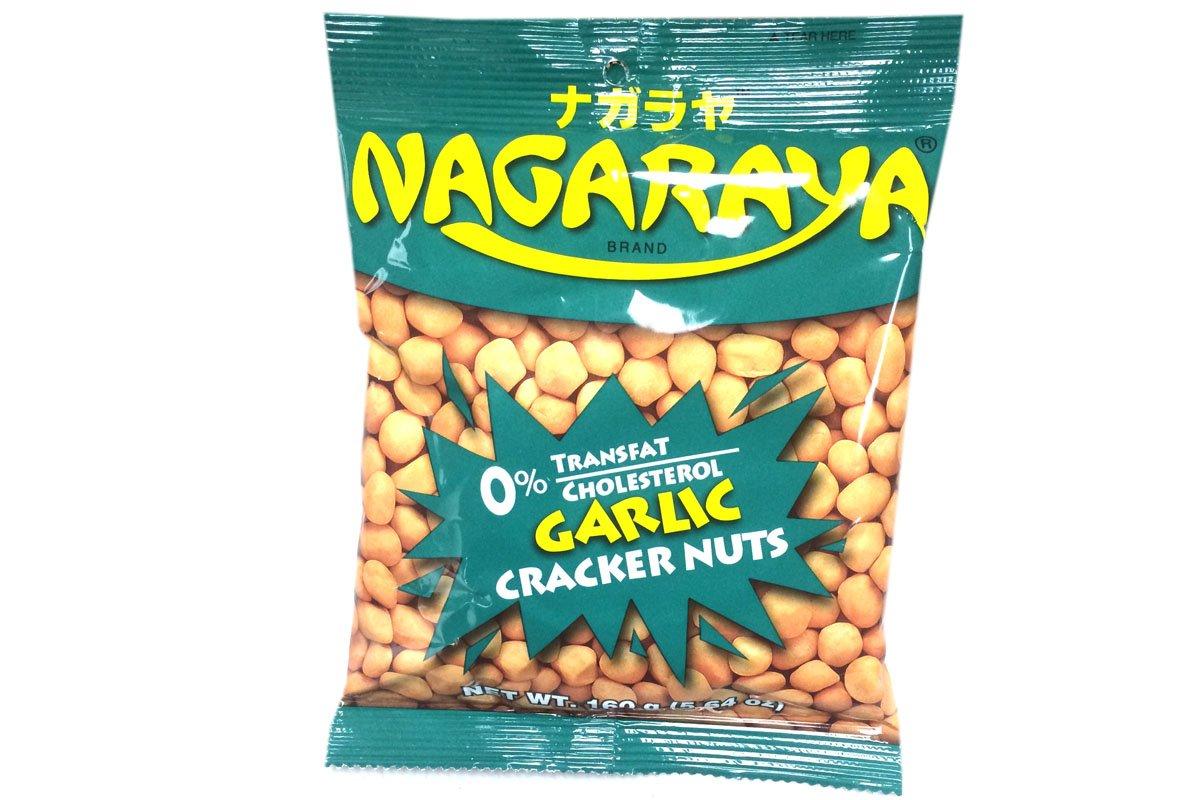 Cracker Nuts (Garlic Flavor) - 5.6oz (Pack of 1)
