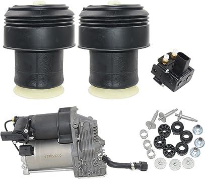 Hintere Luftfedern Luftfederungs Kompressorpumpe W Vlave 37206799419 37206859714 Auto