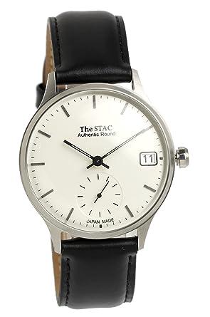 92caef5712bd [ザ・スタック] The STAC 日本製 腕時計 ウォッチ Authentic Round クラシック メンズ レディース