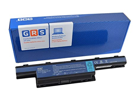 GRS Batería AS10D51 con 6600mAh Acer Aspire 7741G 5742G 7750G 5741ZG 5733 5560G 5750G 7551G TravelMate 5740 8472 5760 4740 sustituye a: AS10D31 ...
