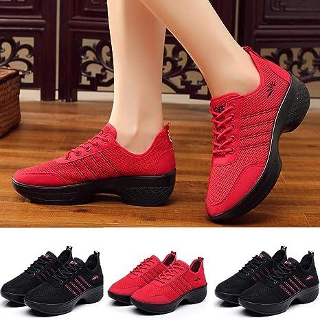 f969b3c55afc5 Amazon.com: Hot Sale! NDGDA Modern Jazz Dance Sneakers Women ...