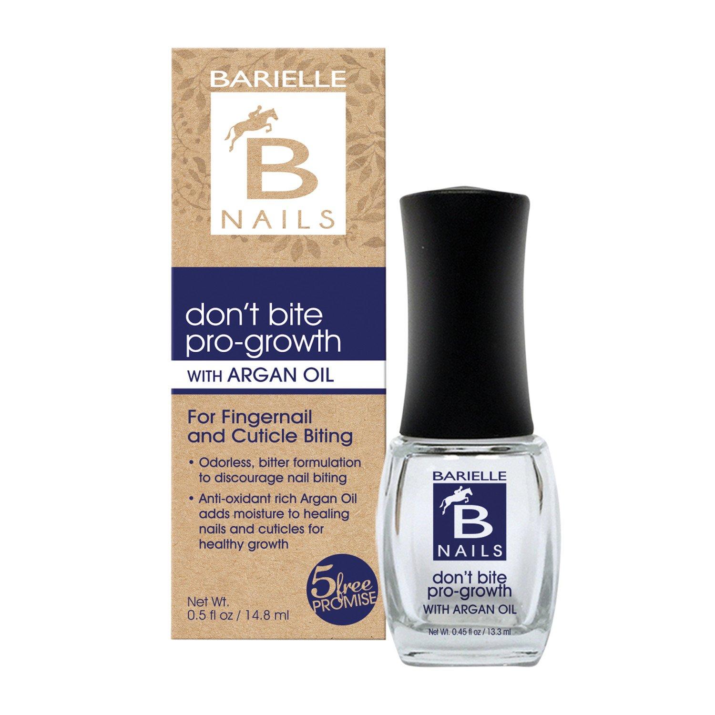 Amazon.com : Barielle No Bite Pro Growth, 0.5 Ounce : Nail Growth ...