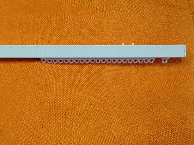 Binario RILOGA ZINEFFA SCORRITENDA in Alluminio Bianco TIRO Corda LINEARE L.160 Montaggio A SOFFITTO Bastone per Tenda
