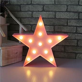 LED Lámparas Luces nocturnas - Pentagram Modelado Iluminación infantil nocturna Lámparas de pared, Lámparas Decoración