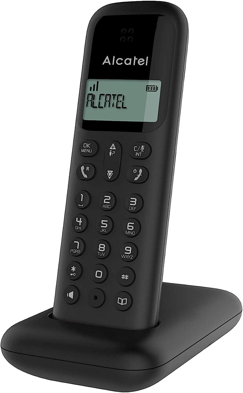 ALCATEL TELEFONO DEC D285 Negro: Amazon.es: Electrónica