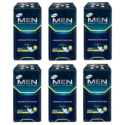 Tena for MEN Level 2 (20 – 120 unidades) cantidades Descuento 1 o 6