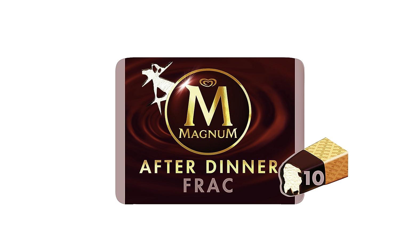 Magnum Frac After Dinner - Helado Sabor Nata,10 unidades: Amazon.es: Alimentación y bebidas