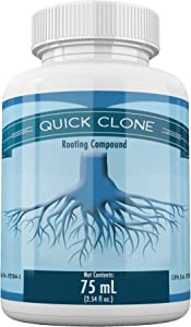 Quick Clone Gel - Most Advanced Cloning Gel for Faster, Healthier, Stronger Rooting Clones. (75mL)