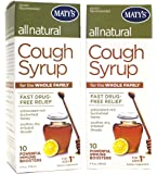 Matys All Natural Cough Syrup, 4 oz(Pack of 2)