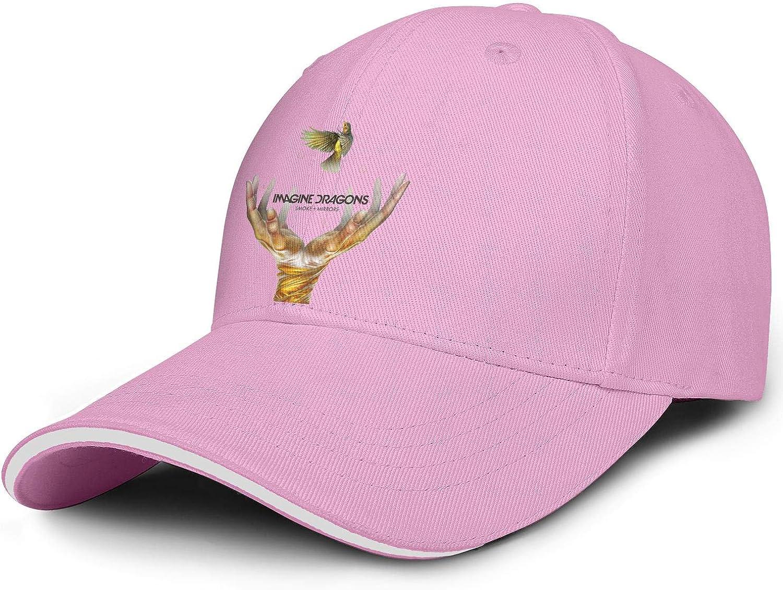 KAIWNV Strapback Caps Unisex Adjustable Cool Athletic Trucker