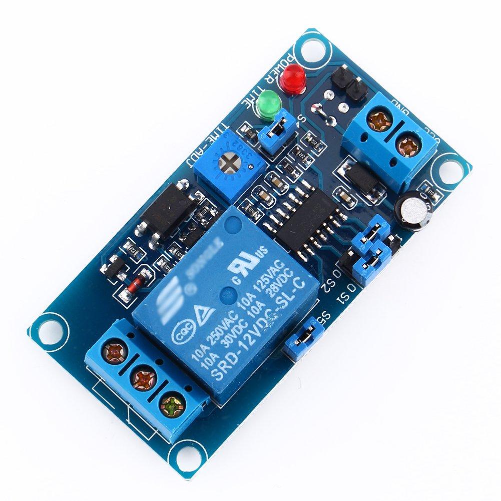Yosoo 5v 12v Dc Delay Relay Turn On Off Switch Power Timer Module External Trigger