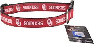 product image for Oklahoma Sooners Ribbon Dog Collar - Large