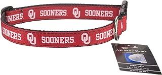 product image for Oklahoma Sooners Ribbon Dog Collar - Large