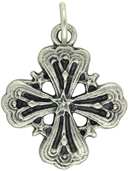 Amazon Gifts Catholic Inc 5 Star Cross Medal 1 18 Jewelry