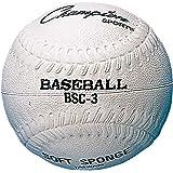 Champion Sports Rubber Baseball, Black/White