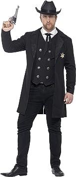 SmiffyS 26530Xxl Disfraz De Sheriff Con Curvas Con Chaqueta ...