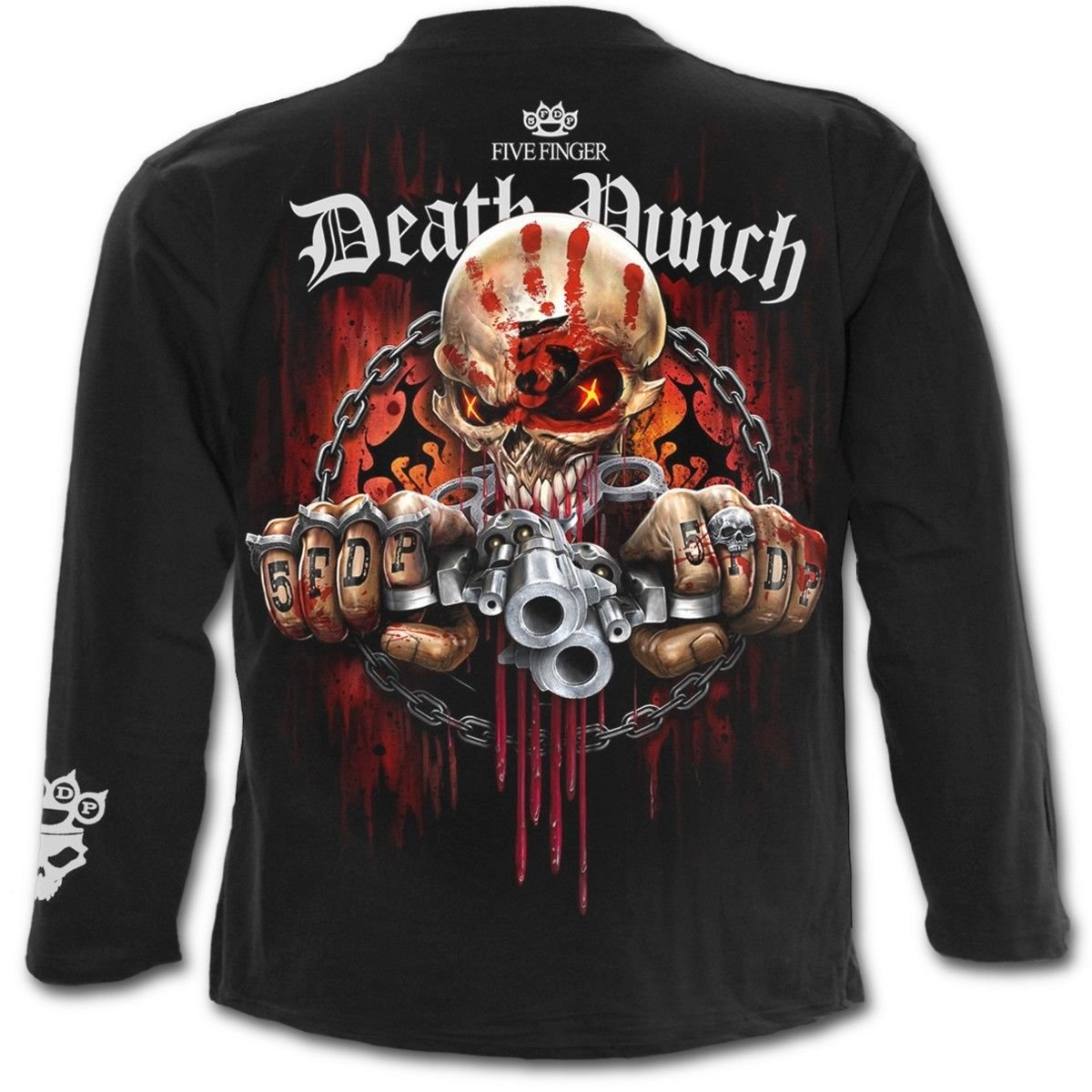 e8499535252 Amazon.com  Five Finger Death Punch Assassin - Mens Longsleeve T-Shirt   Clothing
