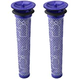 2 Pack Replacement Pre Filters for Dyson DC58, DC59, V6, V7, V8. Replaces Part 965661-01. 2 Filters