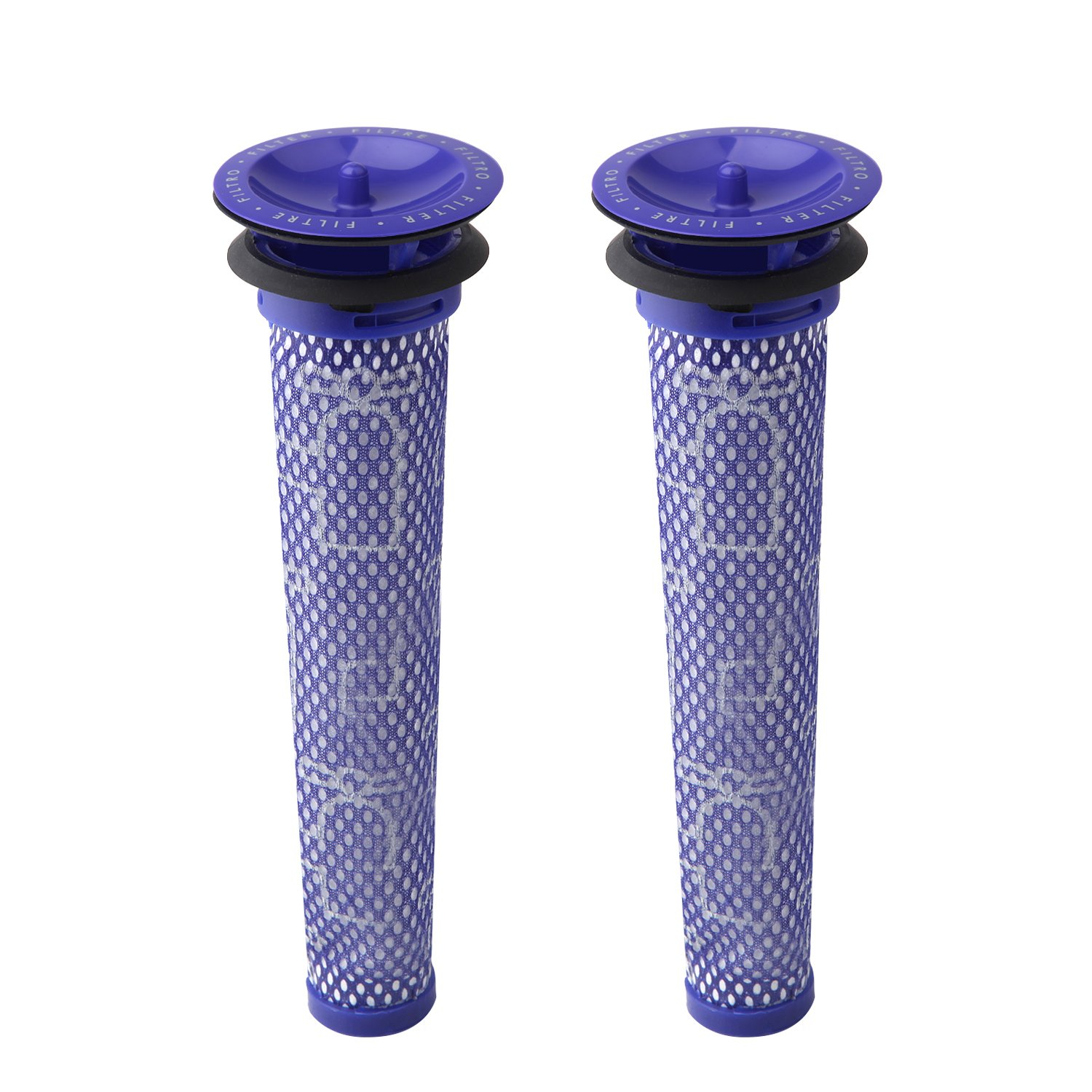 2 Pack Replacement Pre Filters for Dyson DC58, DC59, V6, V7, V8. Replaces Part # 965661-01. 2 Filters