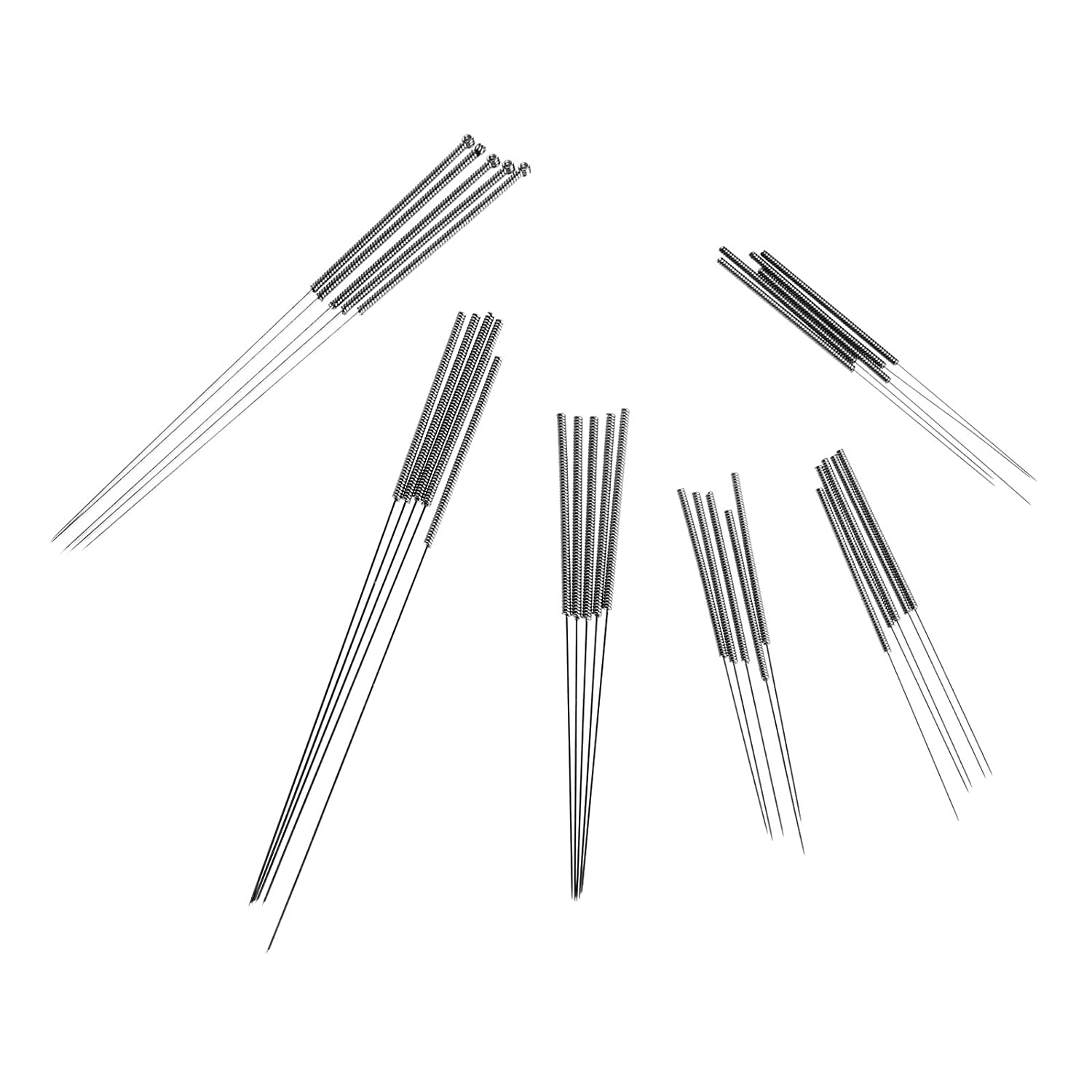 0.4 mm Drill Bits for 3D Printer Nozzle Cleaning Kit Stainless Steel Nozzle Cleaning Tool Kit (5 Pack) MUXSAM