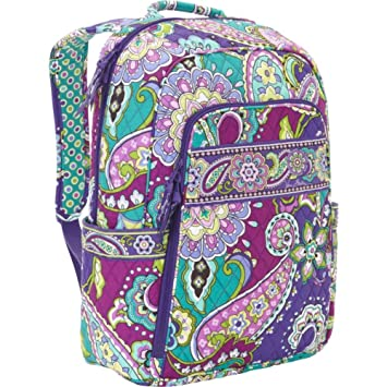 Vera Bradley Laptop Backpack Heather