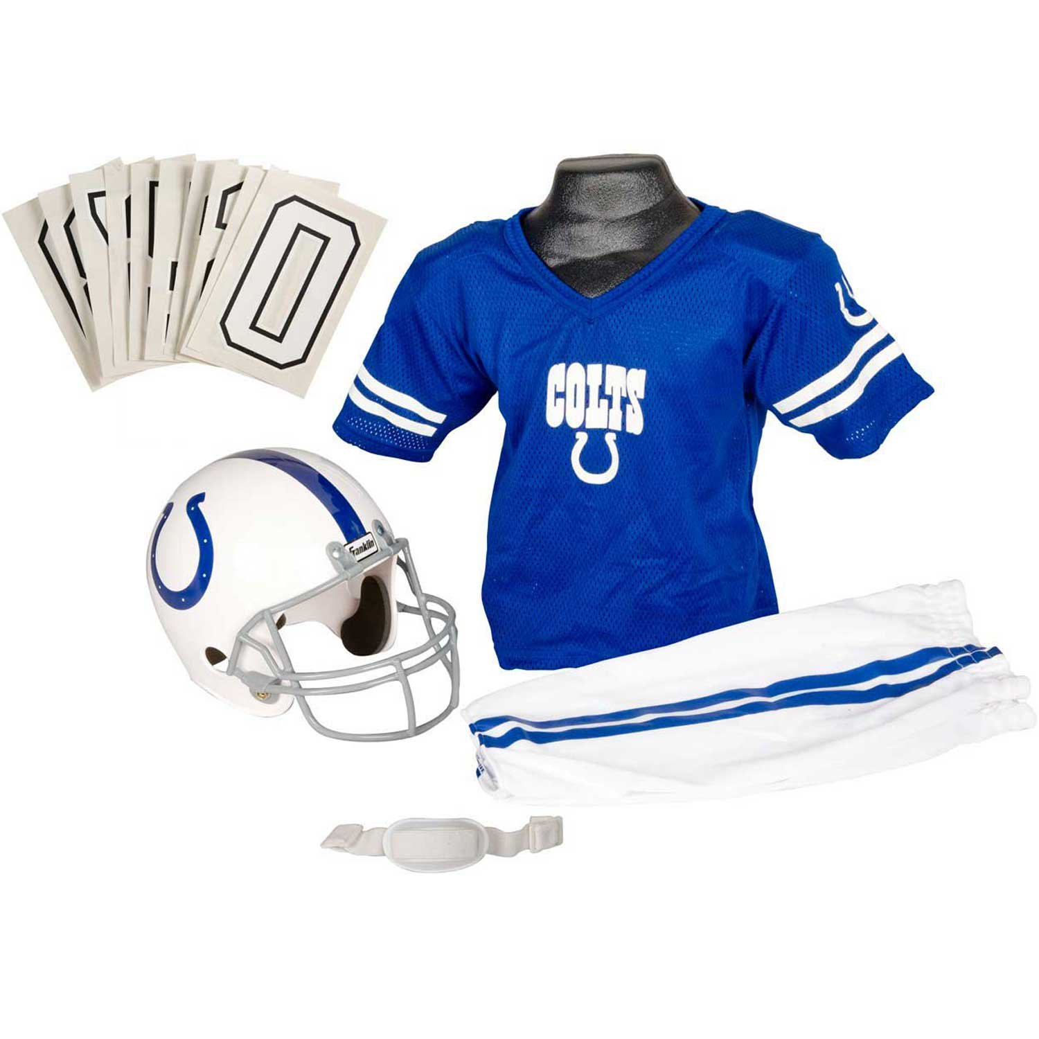 154f1ee641c Indianapolis Colts Halloween Costumes Franklin Sports NFL Team Licensed Youth  Uniform ...