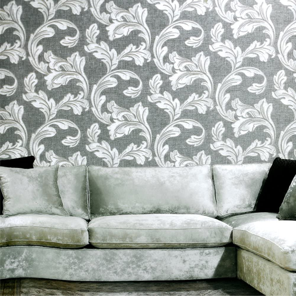 Dxg Fx High Fashion Wallpaper Simple Living Room Bedroom Tv Background Wall Paper A Amazon Com