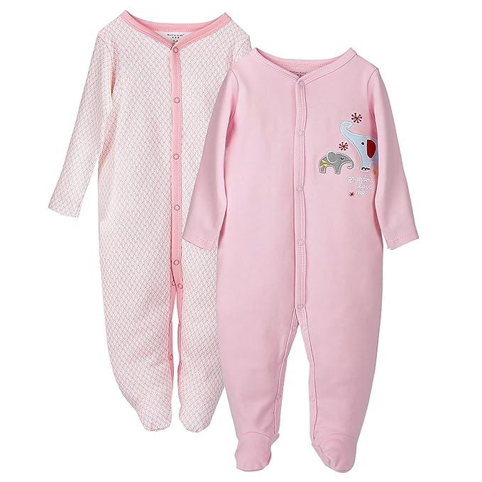 Future Founder - Pelele para Dormir - para bebé niña: Amazon.es: Ropa y accesorios