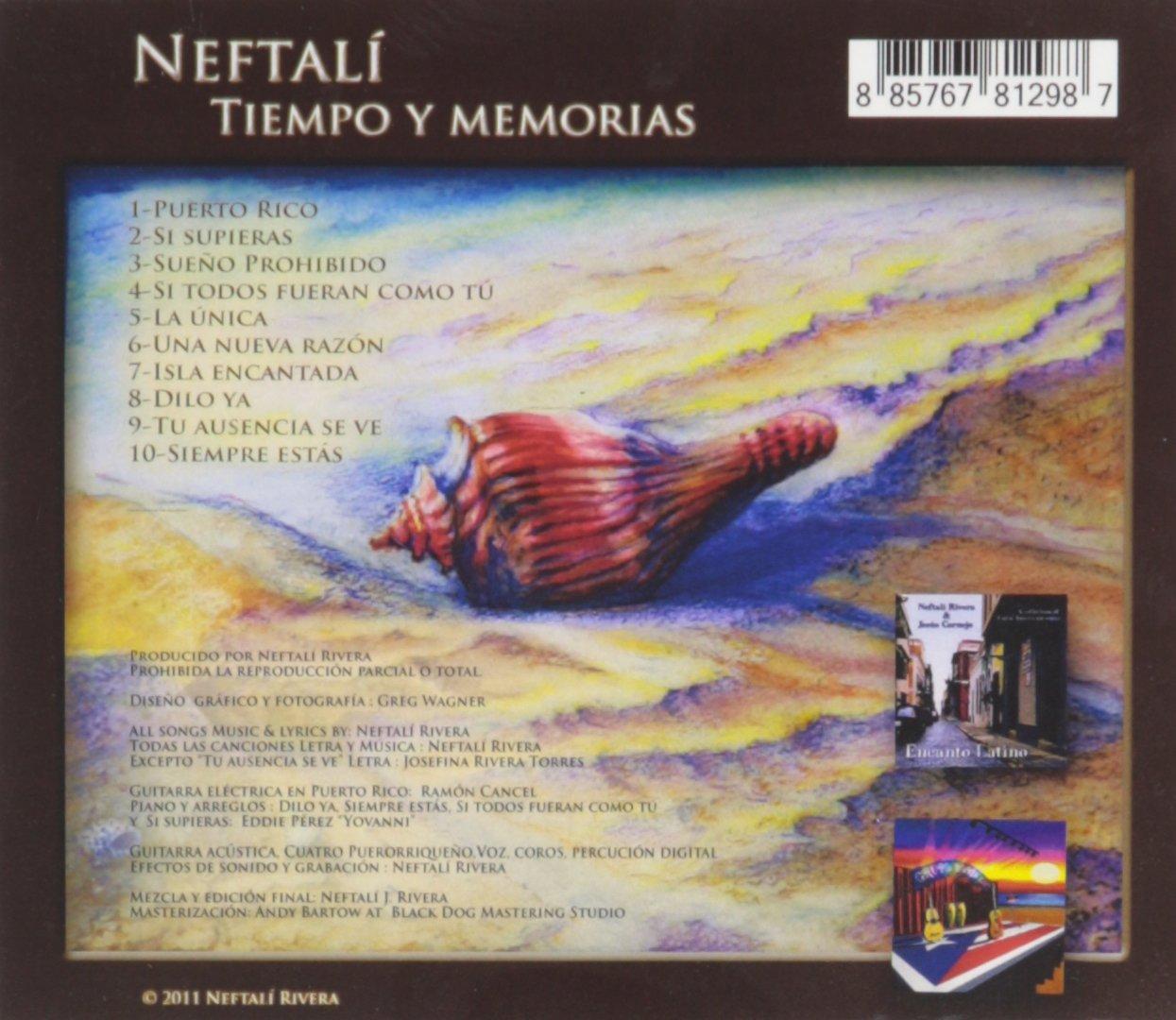 Neftali - Tiempo Y Memorias - Amazon.com Music