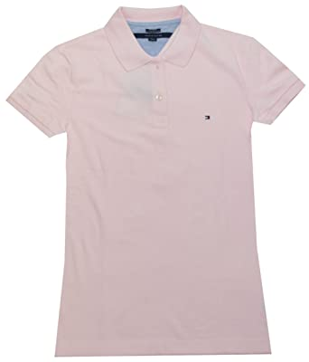 49c6320bfaa Tommy Hilfiger Women Easy Fit Logo Polo T-Shirt at Amazon Women s ...