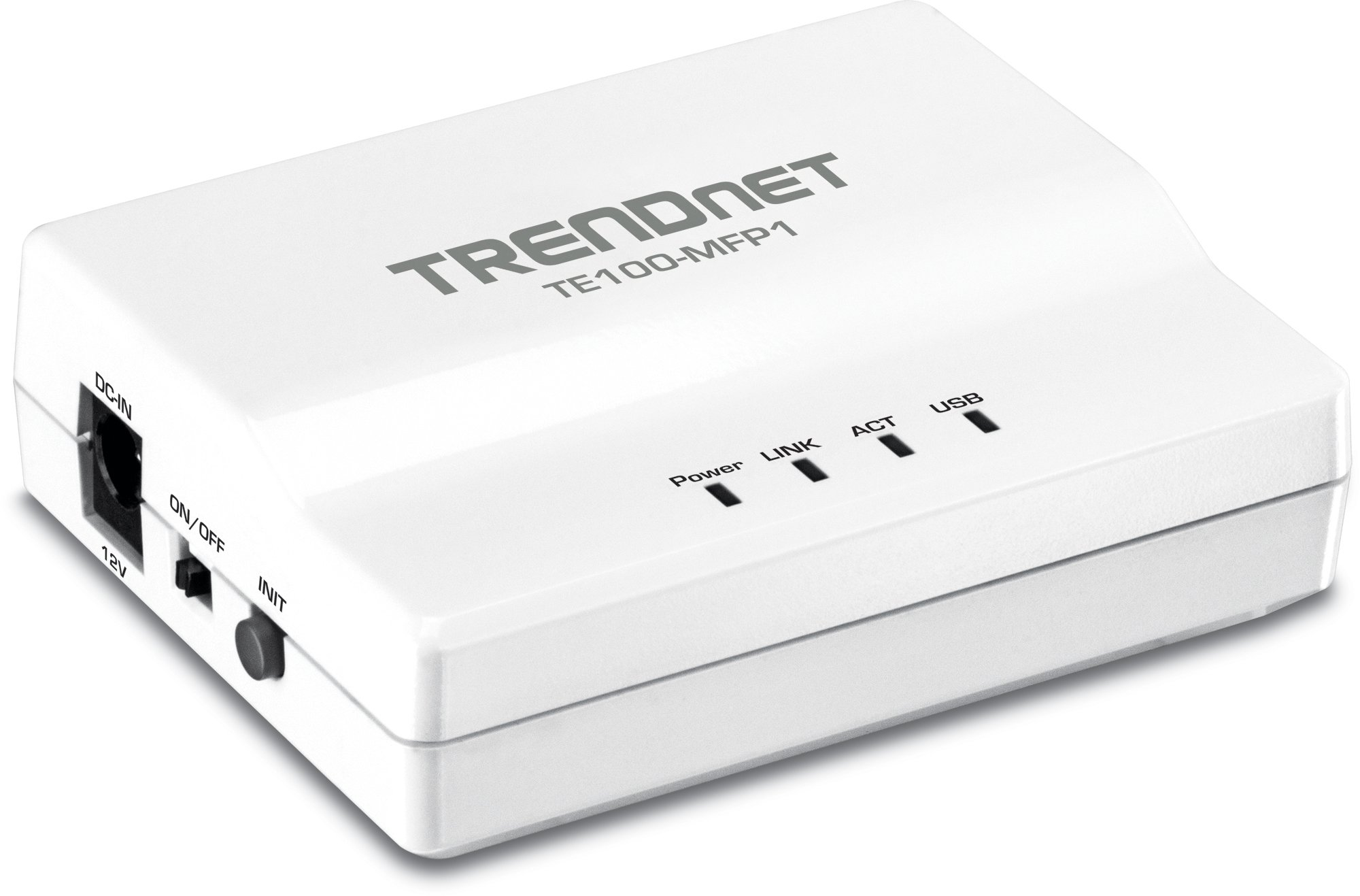 TRENDnet 1-Port Multi-Function USB Print Server TE100-MFP1 (Version v1.0R) by TRENDnet