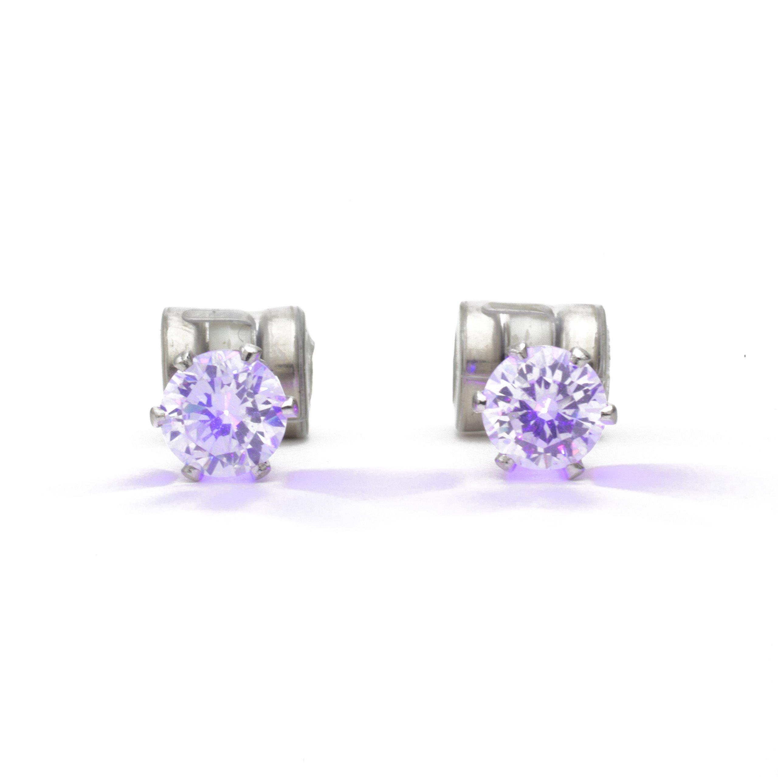 Original Night Ice LED Earrings (Purple)