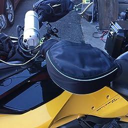 Amazon 大久保製作所 ハンドルカバー オオ型バイク スクーター Ob 7300 Ob 7300 ハンドルカバー 車 バイク