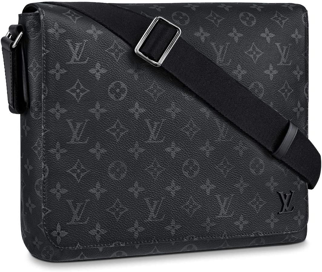 Louis Vuitton District Messenger Bag (Monogram Eclipse, MM)