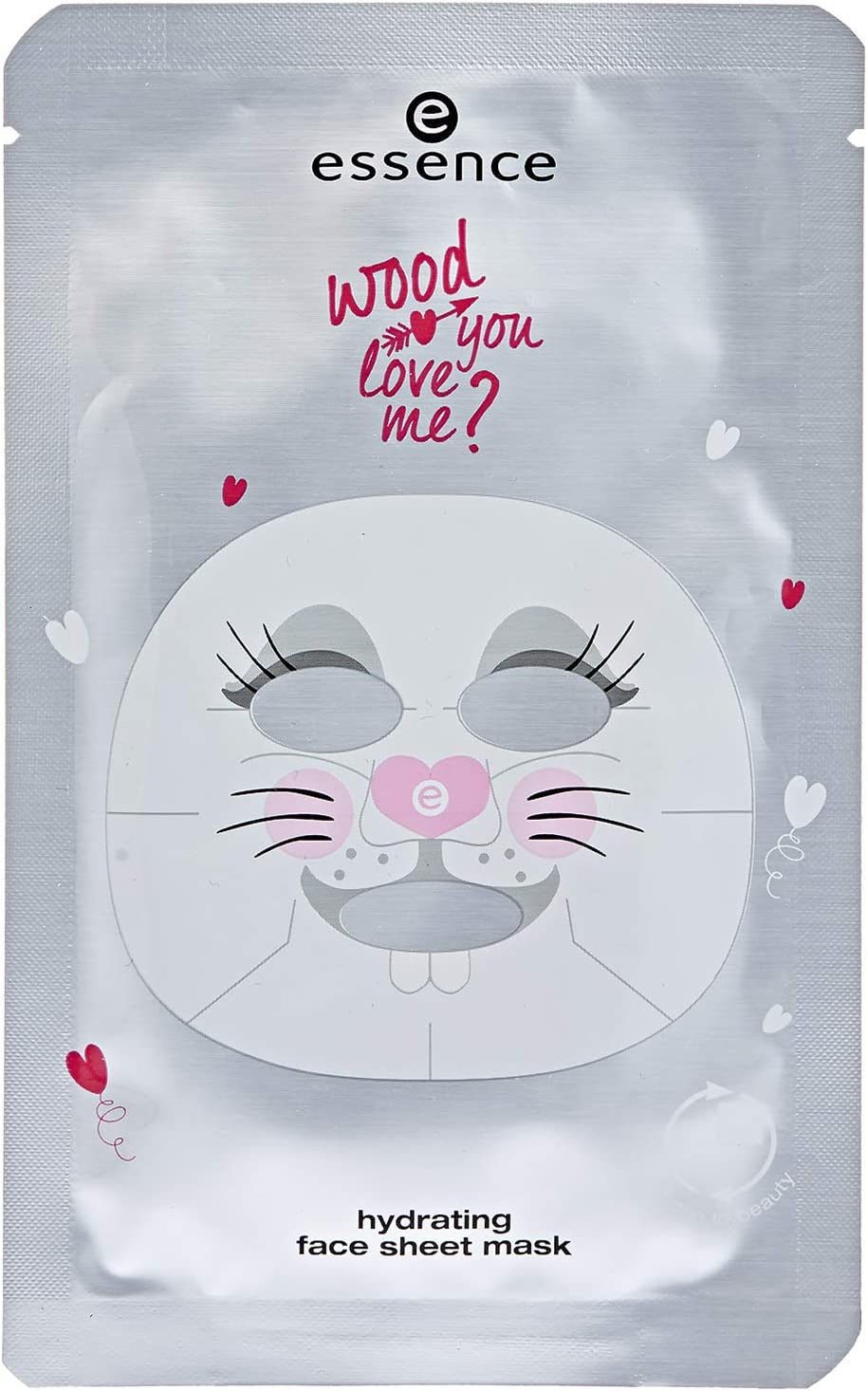 Essence – Máscara facial – Wood You Love Me? – hydrating Face Sheet Mask 01 – Be Happy. be a Bunny.: Amazon.es: Belleza