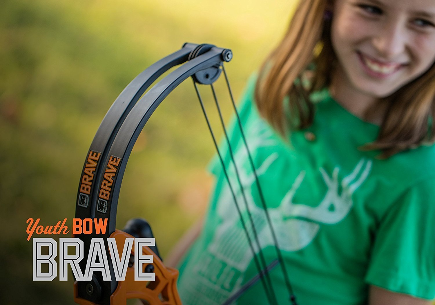 By-Ear Archery Compound Bow, Brave Youth Set Girls Boys Compound Bow Kids, Black by By-Ear Archery (Image #5)
