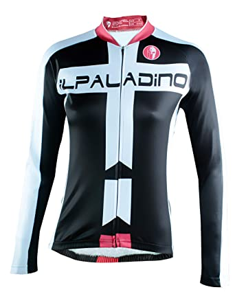 ILPALADINO Biking Shirt Women Long Sleeve Black Cycling Jersey Quick Dry  Breathable Bicycle Clothing Girl Bike f6ecc75c2