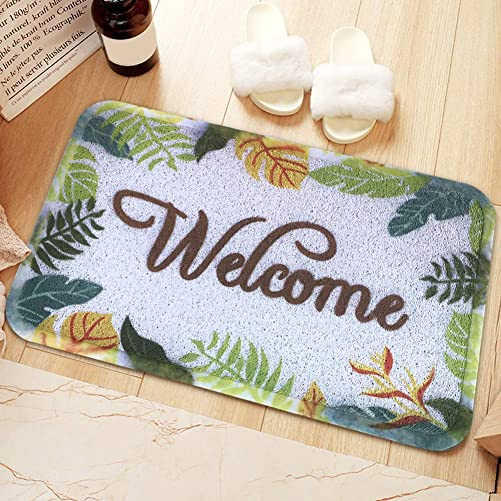 YWTB Welcome Door mat Funny Rugs for Outdoor Home and Garden 23.6 X35.4