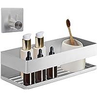 smartpeas Douchebak/douchemand/doucheplank/badkamerrek zelfklevend zonder boren van roestvrij staal chroom mat +plus…