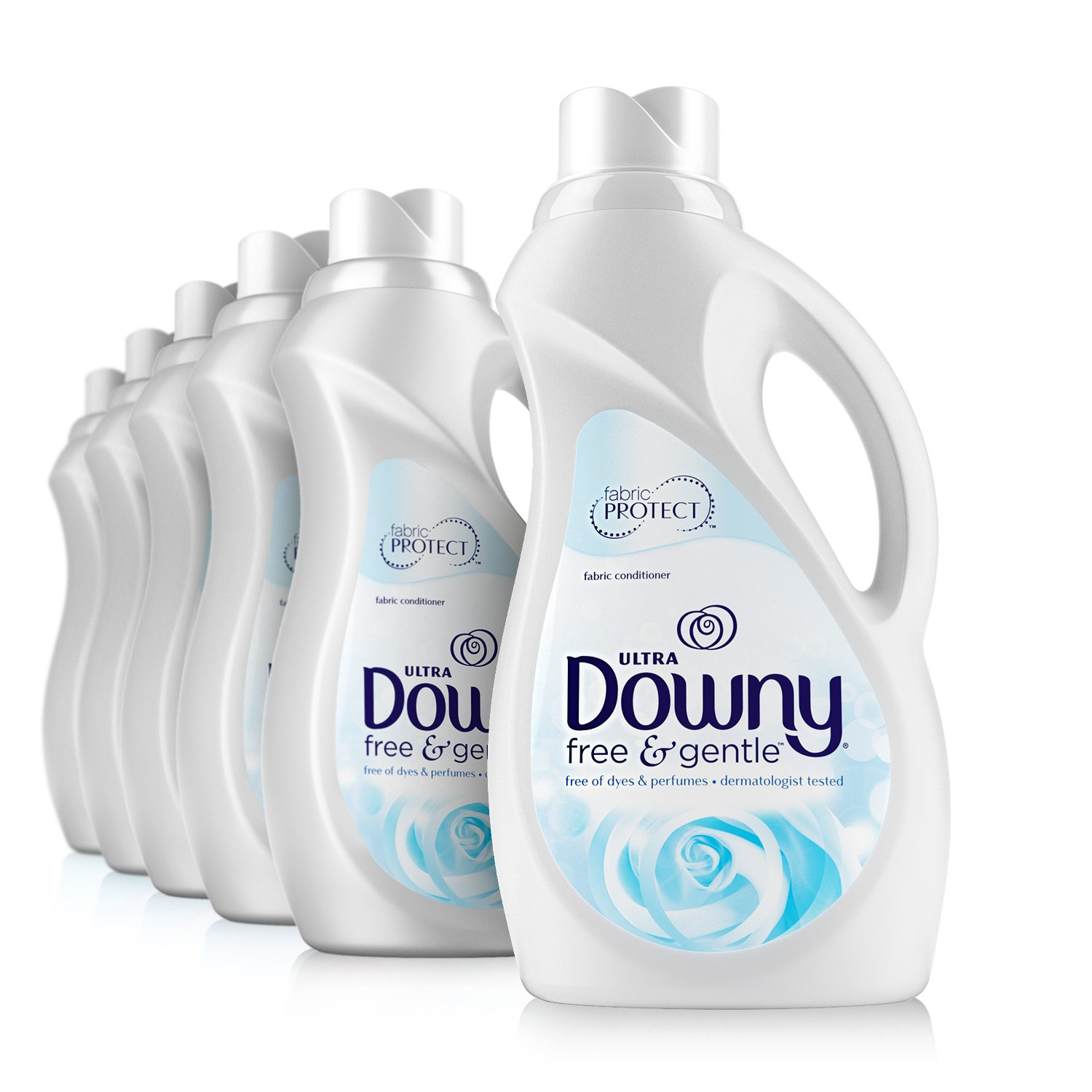 using downy fabric softener to remove