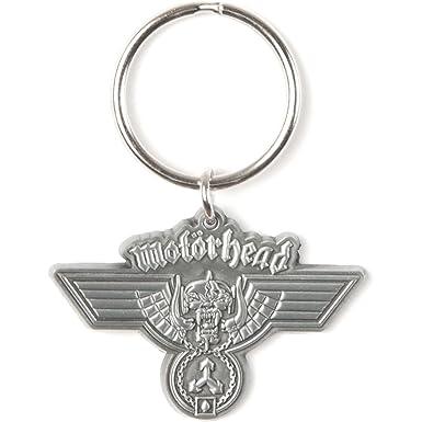 MOTORHEAD HAMMERED Keyring/ Schlüsselanhänger: Amazon.es ...