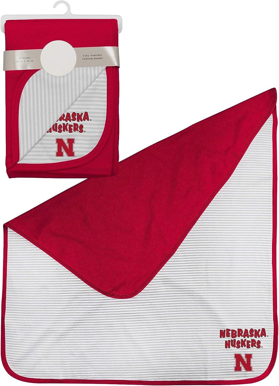 OuterStuff NCAA Newborn Reversible 2-Ply Blanket, Team Variation