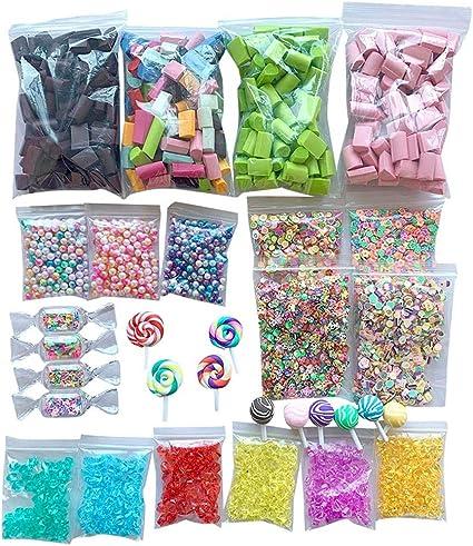 Slime Supplies Kit Foam Beads Charms Styrofoam Balls Tools For DIY Slime  New