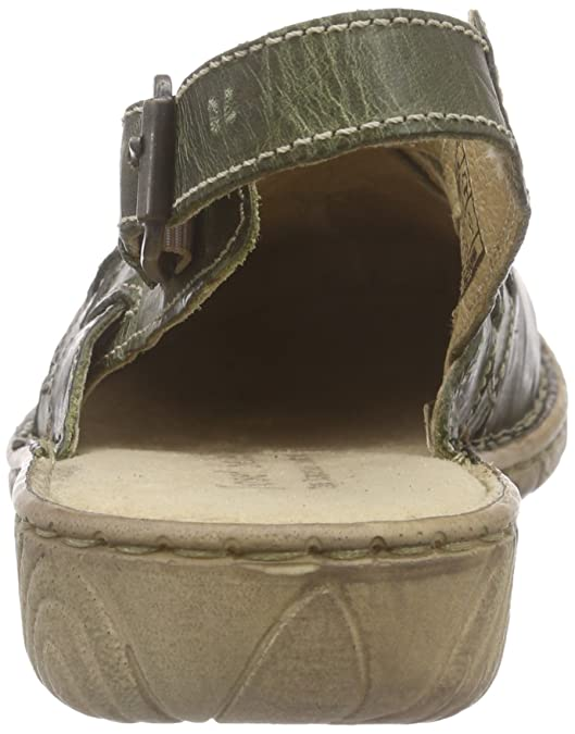 f326771ad1c39 Josef Seibel Francesca 07, Sandales Bout Ouvert Femme - Vert - Vert Olive,  36  Amazon.fr  Chaussures et Sacs