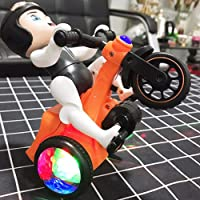 PLAY DESIGN Bump & Go Toy with Flashing Light & Sound Tricycle Motorcycle