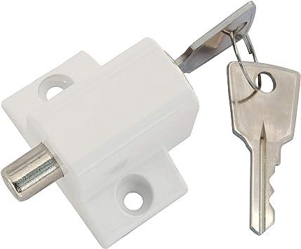 Home secure - Cerrojo de seguridad para puertas correderas, color ...